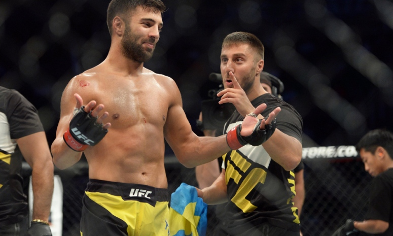 MMA: UFC Fight Night-Teymur vs Novelli