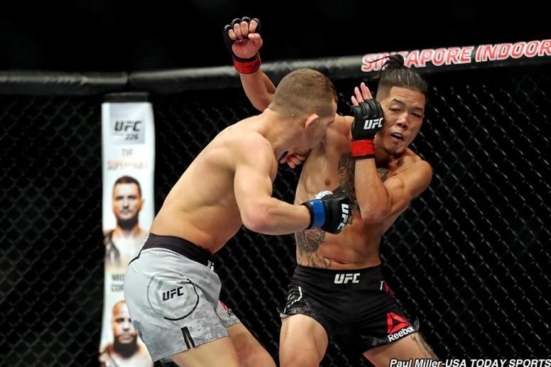MMA: UFC Fight Night-Singapore-Ishihara vs Yan